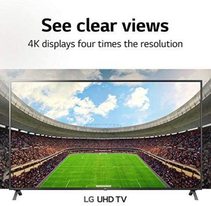 "LG 55UN7300PUF Alexa Built-In UHD 73 Series 55"" 4K Smart UHD TV (2020) 2"