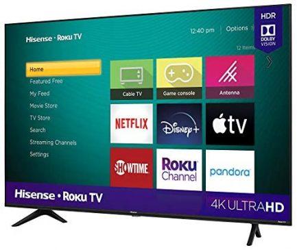 Hisense 43-Inch Class R6090G Roku 4K UHD Smart TV with Alexa Compatibility (43R6090G, 2020 Model) 4