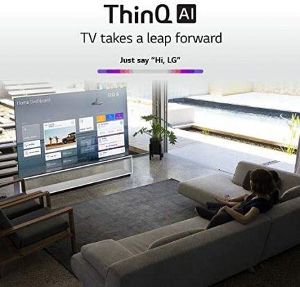 LG SIGNATURE OLED77ZXPUA Alexa Built-In ZX 77-inch 8K Smart OLED TV (2020 Model) 4