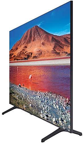 Samsung UN65TU7000FXZA 65 inch 4K Ultra HD Smart LED TV 2020 Model Bundle with Support Extension 5