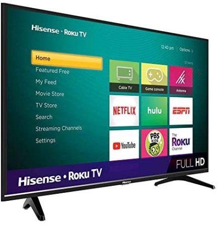 Hisense 40-Inch Class H4 Series LED Roku Smart TV with Alexa Compatibility (40H4F, 2020 Model) 4