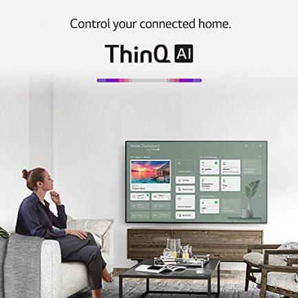 "LG LED Smart TV 65"" Slim Real 4k UHD NanoCell TV (3840 x 2160), 60Hz Refresh Rate, 4K Cinema, Apps Enabled, Gaming Mode, Google/Alexa - 2021 11"