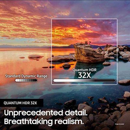 SAMSUNG QN65Q900RBFXZA Flat 65-Inch QLED 8K Q900 Series Ultra HD Smart TV with HDR and Alexa Compatibility (2019 Model), Black 6