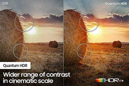 Samsung QN43Q60AA 43 Inch QLED Q60A 4K Smart TV (2021) (Renewed) 8