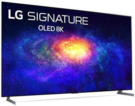 LG SIGNATURE OLED77ZXPUA Alexa Built-In ZX 77-inch 8K Smart OLED TV (2020 Model) 8