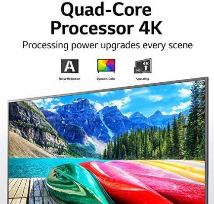 "LG 55UN7300PUF Alexa Built-In UHD 73 Series 55"" 4K Smart UHD TV (2020) 3"