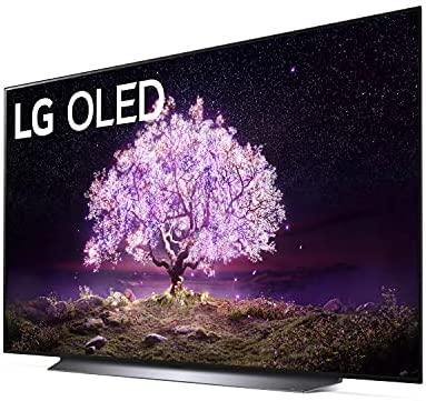 LG OLED77C1PUB C1 77 inch OLED TV 4K Smart TV w/AI ThinQ Bundle with Yamaha YAS109 Soundbar, Universal Wall Mount, HDMI Cable - LG Authorized Dealer 3