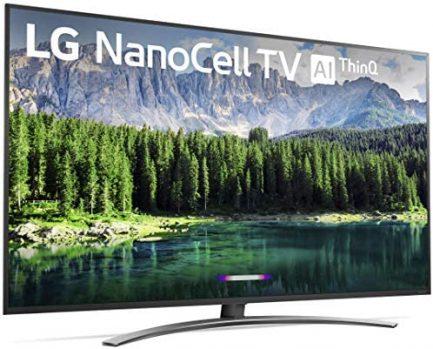 "LG Nano 8 Series 75SM8670PUA TV, 75"" 4K UHD Smart LED NanoCell, 2019 model 2"