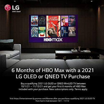 "LG OLED77B1PUA Alexa Built-in B1 Series 77"" 4K Smart OLED TV (2021) 6"