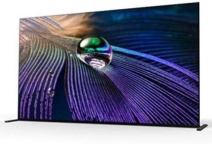 "Sony XR65A90J 65-inch OLED 4K HDR Ultra Smart TV (2021 Model) Bundle with Deco Home 60W 2.0 Channel Soundbar, 37""-100"" TV Wall Mount Bracket Bundle and 6-Outlet Surge Adapter 4"