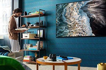 SAMSUNG QN65Q900RBFXZA Flat 65-Inch QLED 8K Q900 Series Ultra HD Smart TV with HDR and Alexa Compatibility (2019 Model), Black 11
