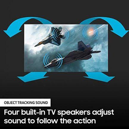 SAMSUNG 65-inch Class QLED Q90T Series - 4K UHD Direct Full Array 16X Quantum HDR 16X Smart TV with Alexa Built-in (QN65Q90TAFXZA, 2020 Model) 8