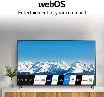 "LG 55UN7300PUF Alexa Built-In UHD 73 Series 55"" 4K Smart UHD TV (2020) 5"