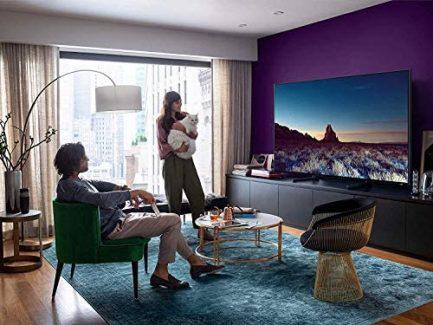 SAMSUNG QN65Q900RBFXZA Flat 65-Inch QLED 8K Q900 Series Ultra HD Smart TV with HDR and Alexa Compatibility (2019 Model), Black 10