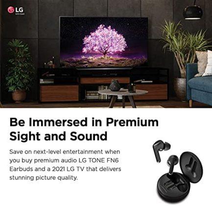 "LG OLED55C1PUB Alexa Built-in C1 Series 55"" 4K Smart OLED TV (2021) 5"