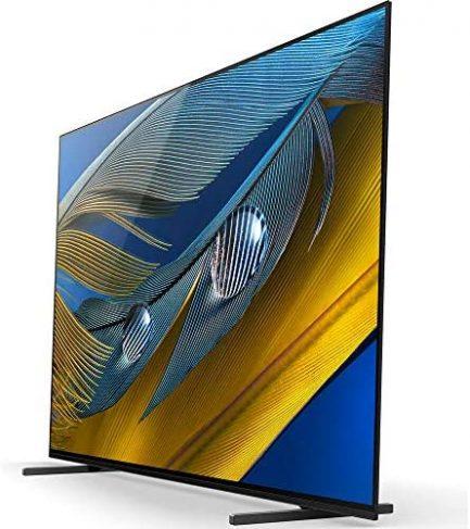 "Sony XR55A80J 55-inch A80J 4K OLED Smart TV (2021 Model) Bundle with Deco Home 60W 2.0 Channel Soundbar, 37""-100"" TV Wall Mount Bracket Bundle and 6-Outlet Surge Adapter 5"