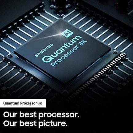 SAMSUNG QN65Q900RBFXZA Flat 65-Inch QLED 8K Q900 Series Ultra HD Smart TV with HDR and Alexa Compatibility (2019 Model), Black 5