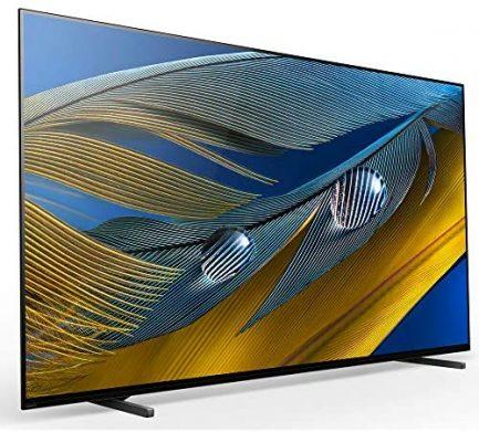 "Sony XR55A80J 55-inch A80J 4K OLED Smart TV (2021 Model) Bundle with Deco Home 60W 2.0 Channel Soundbar, 37""-100"" TV Wall Mount Bracket Bundle and 6-Outlet Surge Adapter 4"