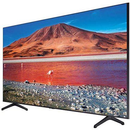 Samsung UN65TU7000FXZA 65 inch 4K Ultra HD Smart LED TV 2020 Model Bundle with Support Extension 4