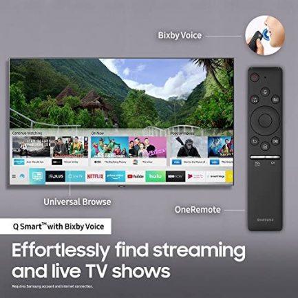 "Samsung QN65Q6FN FLAT 65"" QLED 4K UHD 6 Series Smart TV 2018 9"