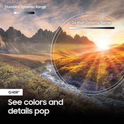 "Samsung QN65Q6FN FLAT 65"" QLED 4K UHD 6 Series Smart TV 2018 6"
