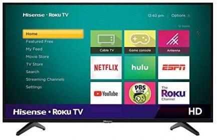 Hisense 40-Inch Class H4 Series LED Roku Smart TV with Alexa Compatibility (40H4F, 2020 Model) 1
