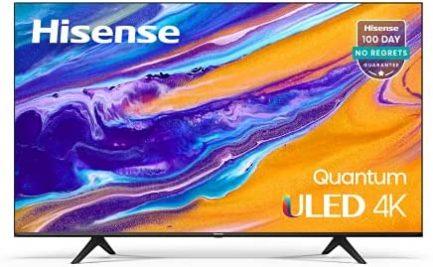 Hisense ULED 4K Premium 55U6G Quantum Dot QLED Series 55-Inch Android Smart TV with Alexa Compatibility (2021 Model) 1