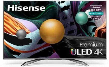 Hisense ULED Premium 55-Inch Class U8G Quantum Series Android 4K Smart TV with Alexa Compatibility (55U8G, 2021 Model) 1