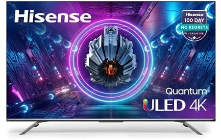 Hisense ULED Premium 55-Inch U7G Quantum Dot QLED Series Android 4K Smart TV with Alexa Compatibility (55U7G) 1