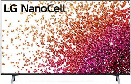 "LG 43NANO75UPA Alexa Built-in NanoCell 75 Series 43"" 4K Smart UHD NanoCell TV (2021) 1"