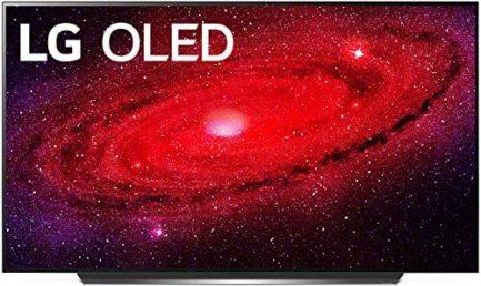"LG OLED55CXPUA / OLED55CXAUA Alexa Built-In CX 55"" 4K Smart OLED TV (2020) (Renewed) 1"