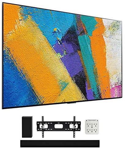 "LG OLED55GXPUA 55"" GX 4K OLED TV w/AI ThinQ (2020 Model) with GX Soundbar Bundle 1"