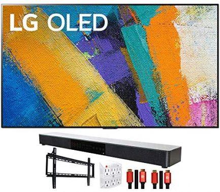 "LG OLED55GXPUA 55"" GX 4K Smart OLED TV (2020) with Deco Gear Home Theater Bundle 1"