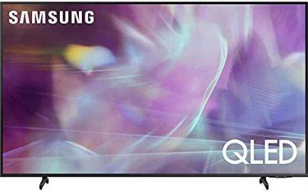 SAMSUNG 43-Inch Class QLED Q60A Series - 4K UHD Dual LED Quantum HDR Smart TV with Alexa Built-in (QN43Q60AAFXZA, 2021 Model) 1