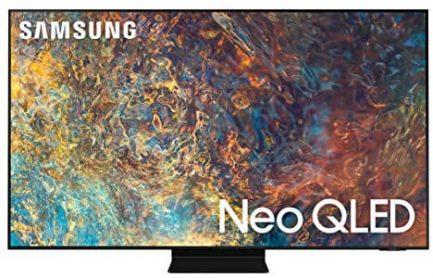 SAMSUNG 50-Inch Class Neo QLED QN90A Series - 4K UHD Quantum HDR 24x Smart TV with Alexa Built-in (QN50QN90AAFXZA, 2021 Model) 1