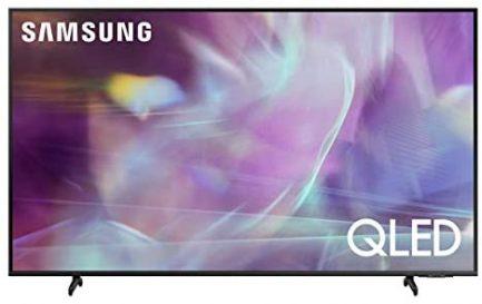 SAMSUNG 60-Inch Class QLED Q60A Series - 4K UHD Dual LED Quantum HDR Smart TV with Alexa Built-in (QN60Q60AAFXZA, 2021 Model) (Renewed) 1