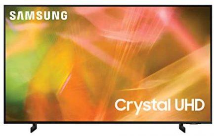 SAMSUNG 65-Inch Class Crystal UHD AU8000 Series - 4K UHD HDR Smart TV with Alexa Built-in (UN65AU8000FXZA, 2021 Model), Black 1