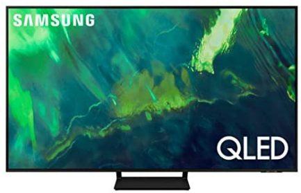 SAMSUNG 65-Inch Class QLED Q70A Series - 4K UHD Quantum HDR Smart TV with Alexa Built-in (QN65Q70AAFXZA, 2021 Model) 1