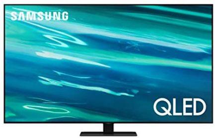SAMSUNG 65-Inch Class QLED Q80A Series - 4K UHD Direct Full Array Quantum HDR 12x Smart TV with Alexa Built-in (QN65Q80AAFXZA, 2021 Model) 1