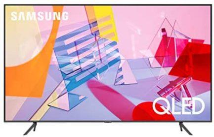 SAMSUNG 65-inch Class QLED Q60T Series - 4K UHD Dual LED Quantum HDR Smart TV with Alexa Built-in (QN65Q60TAFXZA, 2020 Model) 1