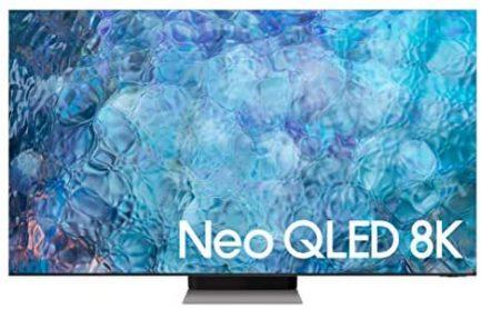 SAMSUNG 75-Inch Class Neo QLED 8K QN900A Series - 8K UHD Quantum HDR 64x Smart TV with Alexa Built-in (QN75QN900AFXZA, 2021 Model) 1