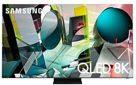 SAMSUNG 85-Inch Class QLED Q950T Series - 8K UHD Direct Full Array Quantum HDR 32X Smart TV with Alexa Built-in (QN85Q950TSFXZA) 1