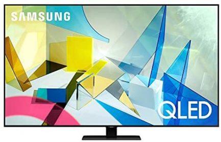 SAMSUNG 85-inch Class QLED Q80T Series - 4K UHD Direct Full Array 12X Quantum HDR 12X Smart TV with Alexa Built-in (QN85Q80TAFXZA, 2020 Model) 1