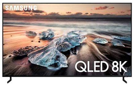 SAMSUNG QN65Q900RBFXZA Flat 65-Inch QLED 8K Q900 Series Ultra HD Smart TV with HDR and Alexa Compatibility (2019 Model), Black 1