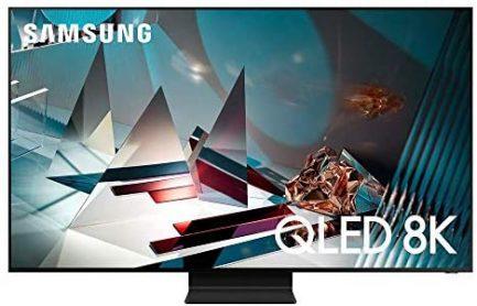 SAMSUNG QN75Q800T / QN75Q800TAFXZA / QN75Q800TAFXZA 75 inch Q800T 8K QLED UHD Smart TV (Renewed) 1