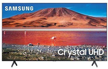 Samsung 65-inch TU-7000 Series Class Smart TV | Crystal UHD - 4K HDR - with Alexa Built-in | UN65TU7000FXZA, 2020 Model 1