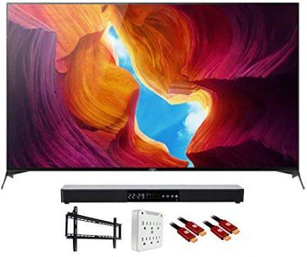 "Sony XBR65X950H 65"" X950H 4K Ultra HD LED TV (2020) with Deco Gear Soundbar Bundle 1"