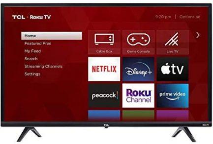 TCL 32S325 32 Inch 720p Roku Smart LED TV (2019) 1