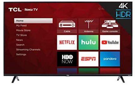 TCL 43S425 43 Inch 4K Ultra HD Smart ROKU LED TV (2018) 1