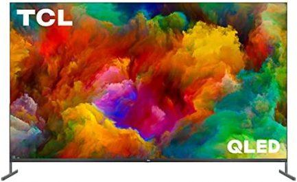 "TCL 85"" Class 4K UHD Dolby Vision HDR QLED Roku Smart TV - 85R745 1"